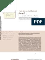 Levitsky & Murillo_Institutional Strength (1)