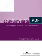 Civic Engagement and Community Information