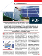 Estructura de Un Panel Fotovoltaico