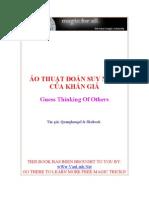 eBook Ao Thuat Doan Suy Nghi Khan Gia (Ao Thuat Gia Lam Nha Tien Tri)