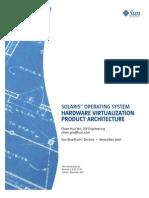 Solaris Operating System Hardware Virtualization Product 268