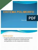 Eritema polimorfo Menor