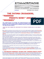 Fatima Crusaders Tlrc Archbishop Milingo and the Unification Church of Rev Sun Myung Moon