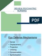 Quick Review Psychiatric Nursing 2