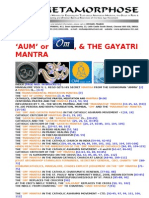 Mantras Om or Aum and the Gayatri Mantra