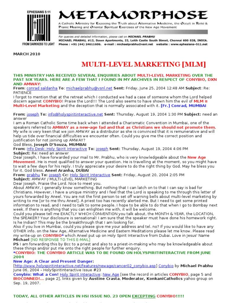 Network marketing canada fundamerica – tank cleaner.