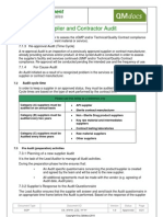 Vendor, Supplier and Contractor Audit