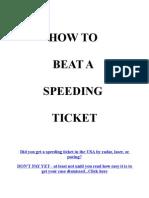 Beat Speeding