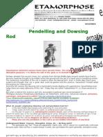 Pendulum Dowsing Fr Clemens Pilar