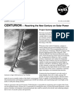 NASA Facts CENTURION Reaching the New Century on Solar Power