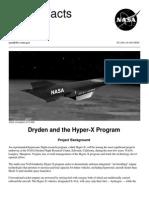 NASA Facts Dryden and the Hyper-X Program