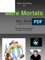 39599608 Value Investing for Mere Mortals Guy Spier