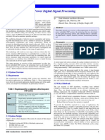 (Paper) Embedded DSP