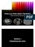 Microsoft Power Point - Fpga and Vhdl Basic Training