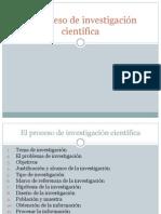 1 El Proceso de Investigacion Cientifica