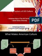 Affecting Factors of US Culture
