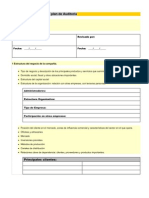 Modelo Plan de Auditoria
