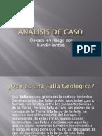 Analisis de Caso Fallas Geologic As