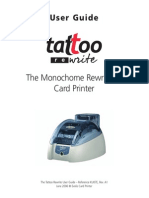 www.evolismexico.com.mx Manual Tutorial Impresora de tarjetas PVC Evolis Tattoo Rewrite