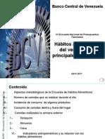 ENCUESTA DE HABITOS DE CONSUMO BCV