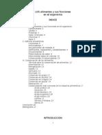 Tipos de Alimentos y Sus Funciones en El Organismo