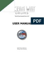 Ocean Way Drums Manual