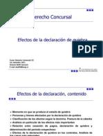 Efectos Declaratoria de Quiebra v2
