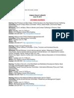 Public Policy Update 6-10-11