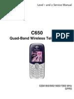 c650 Service Manual