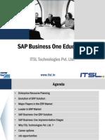 SAP B1 Certification