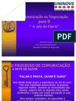 Comunicacao+Na+Negociacao+Parte+II