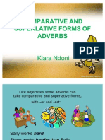 Comparative and Superlative Forms of Adverbs