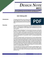 DAC Utilizing ADC