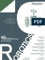 Techniche - Robotics Poster