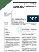 Abnt - Nbr 8160 - Sistemas Prediais de Esgoto Sanitario - Projeto E Execucao[1]