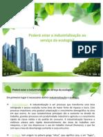 Filosofia - Industrialização e Ecologia