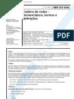NBR 06440 - Cadeira de Rodas - Nomenclatura Termos e Definicoes