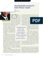 Diversity Journal | Creating Equitable Leaders To Maximize Human Capital - May/June 2011