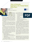 Diversity Journal | The Role of Diversity Management in the Global Talent Retention Race - May/June 2011