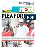 Plea for bail