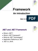 .NET and .NET Framework