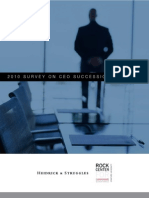 2010 CEO Succession Survey Final2