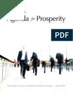 Toronto Agenda for Prosperity