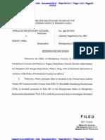 LIBERI v TAITZ (C.D. CA) - 224.2 - # 2[RECAP] Exhibit petition for discipline against attorney Berg - gov.uscourts.cacd.497989.224.2