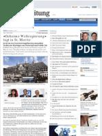 HandelsZeitung CH - Bilderberger - Geheime Weltregierung Tagt