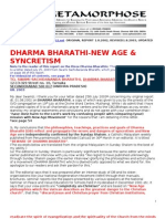 Dharma Bharathi new Age in Catholic Educational Institutions