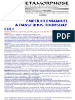 Emperor Emmanuel Dangerous Doomsday Cult Summary
