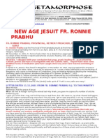 Fr Ronnie Prabhu New Age Priest