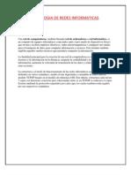 TOPOLOGIA DE REDES INFORMATICAS