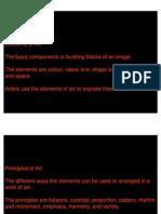 Elements of Visual Art